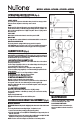 NuTone AVD50N Installation manual - Page 2