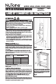 NuTone AVD50N Installation manual - Page 3