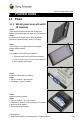 Sony Ericsson U1i Troubleshooting manual - Page 4